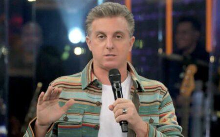 Luciano Huck na Globo Foto: Reprodução Fábio Porchat