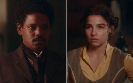 Nos Tempos do Imperador: Samuel corre atrás de Pilar para reatar namoro: 'Não posso desistir de você'
