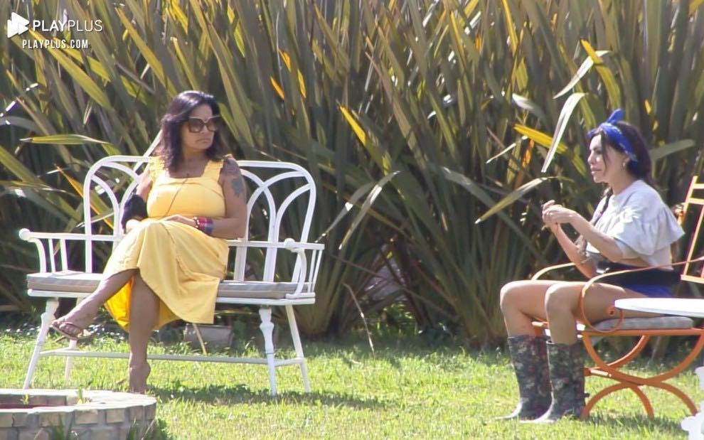 A Fazenda 13: Liziane fala mal de Medrado e leva invertida de Solange
