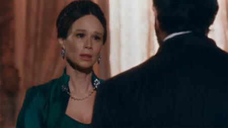 Nos Tempos do Imperador: Luísa revela notícia bombástica e chora de desespero (Reprodução)