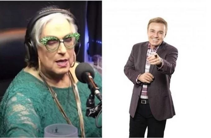 Mamma Bruschetta diz que Gugu namorou com ator famoso da Globo (Foto: Reprodução)