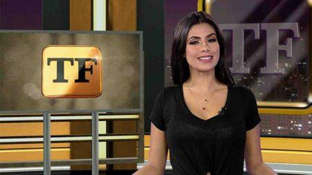 """""""Muito arquitetada"""", diz Flávia Noronha sobre demissão da RedeTV! (Reprodução/RedeTV!)"""
