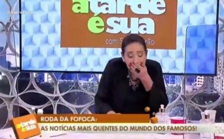 Apresentadora Sonia Abrão da RedeTV (Foto: Reprodução)
