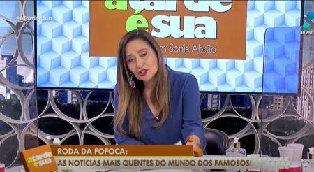 A Fazenda Sonia Abrão falou tudo (Foto: Reprodução)