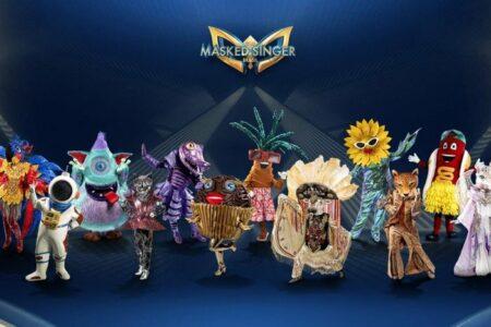Participantes da primeira temporada de The Masked Singer Brasil (Foto: Reprodução)