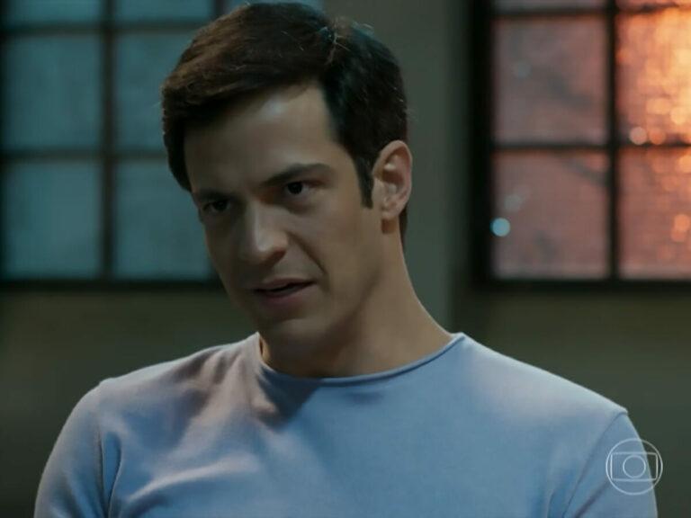 Eric (Mateus Solano) em Pega Pega (Reprodução/Globo)