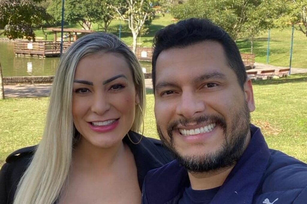 Marido de Andressa Urach revela como está seu casamento após brigas (Foto: Reprodução)