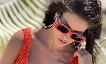Andressa Suita usa tricô e transparência deixa fãs enlouquecidos (Foto: Reprodução)