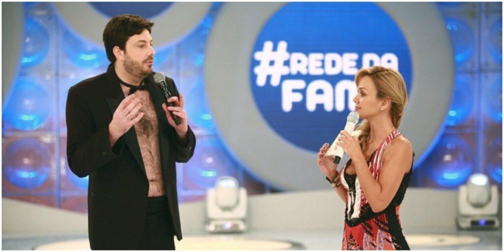 Danilo Gentili e Eliana (Foto: Reprodução)
