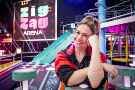 Fernanda Gentil, apresentadora de Zig Zag Arena (Foto: Reprodução)