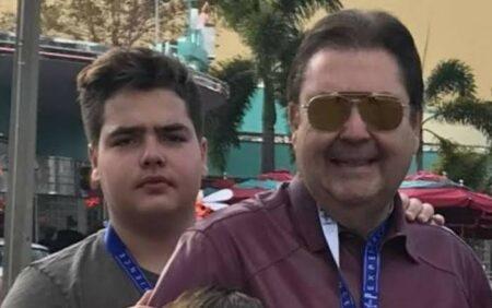 Filho de Fausto Silva perde mais de 50 kg e aparece irreconhecível em Ibiza