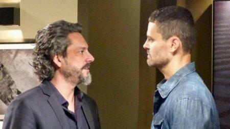 Império: Em busca de vingança, José Alfredo bota Maurílio para correr (Reprodução/Globo)