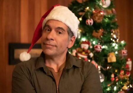 Leandro Hassum, em cena de Tudo Bem no Natal que Vem (Foto: Reprodução/Netflix)