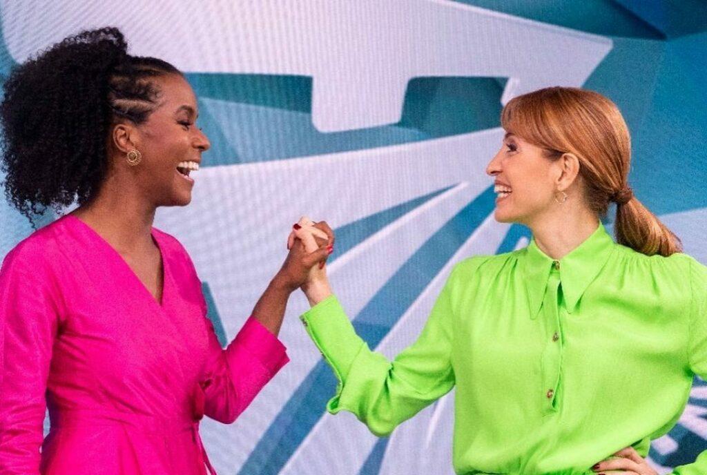 A famosa apresentadora, Poliana Abritta comandará o Fantástico ao lado de Maju Coutinho na Globo (Reprodução)