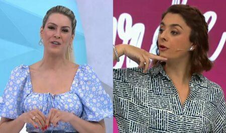 Chegada de Faustão na Band afeta Renata Fan e Catia Fonseca (Foto: Reprodução)